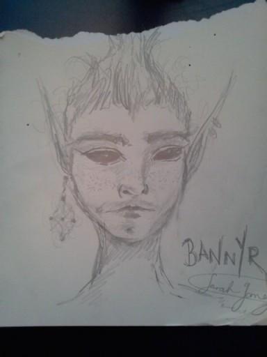 Bannyr Sarah Gomez (2013) Pencil
